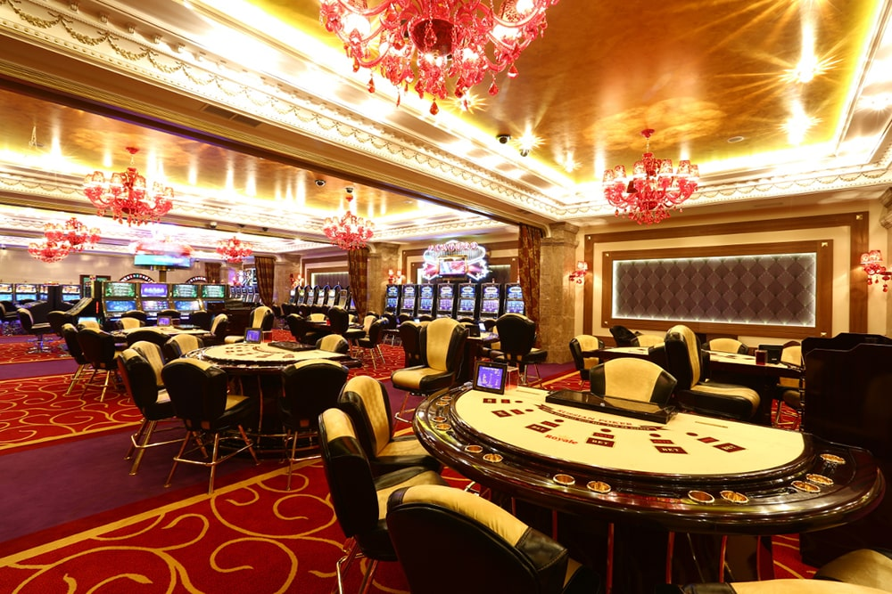 Types of the slot games machines in gambling hall
