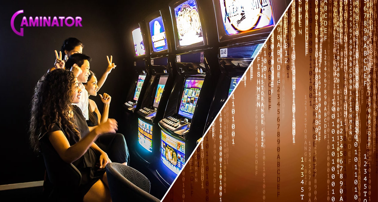 Software for gambling halls and slot machines