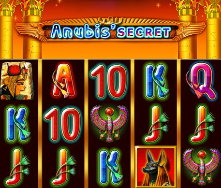 скриншот слота Alp Games - Anubis Secret