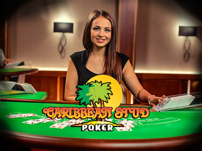 Caribbean Poker: live dealer software