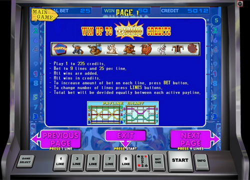 Chukchi Man video slot from Duomatic