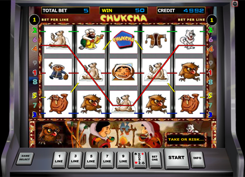 Chukchi Man gaming machine from Duomatic