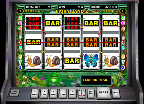 Fairy Land online slot from Duomatic
