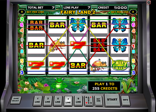 Fairy Land slot machine from Duomatic