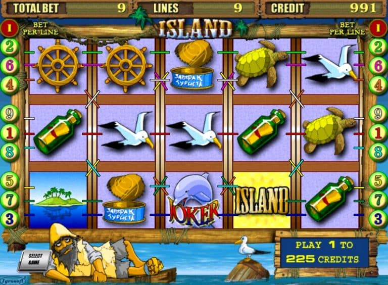 Island online game from Igrosoft