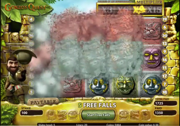 Gonzo's Quest online slot from NetEnt