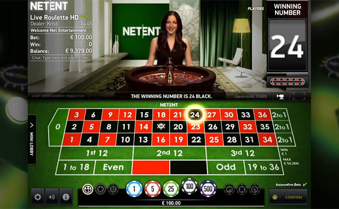 Live Roulette: live casino software