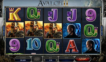 slot machine Microgaming - Avalon II, img