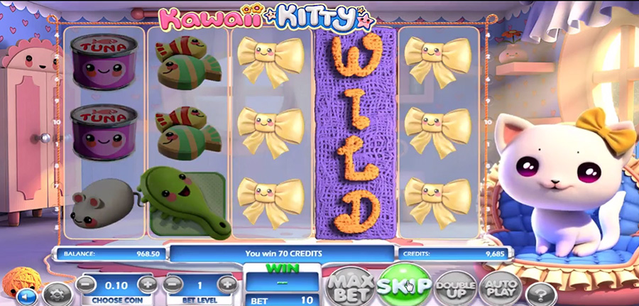 Betsoft Gaming - Kawaii Kitty, скриншот 4