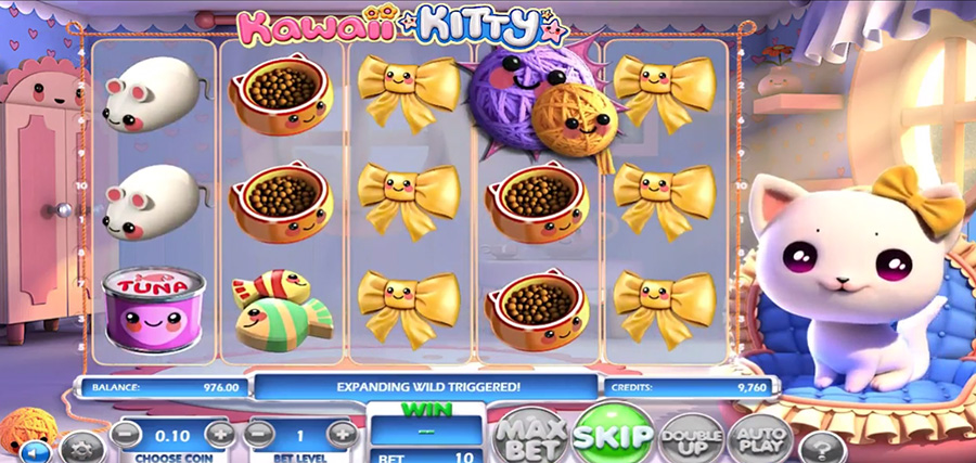 Betsoft Gaming - Kawaii Kitty, скриншот 3