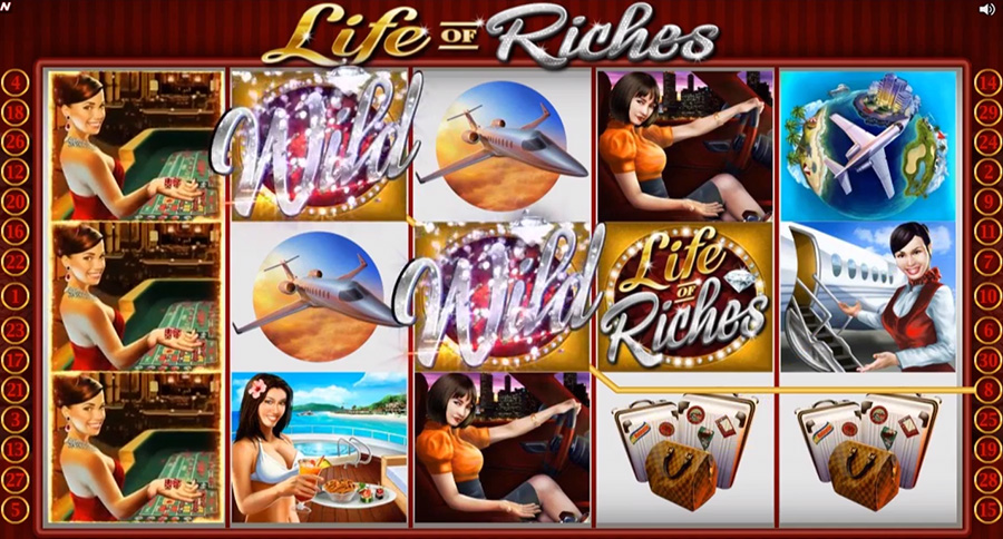 Microgaming - Life of Riches, скриншот 1