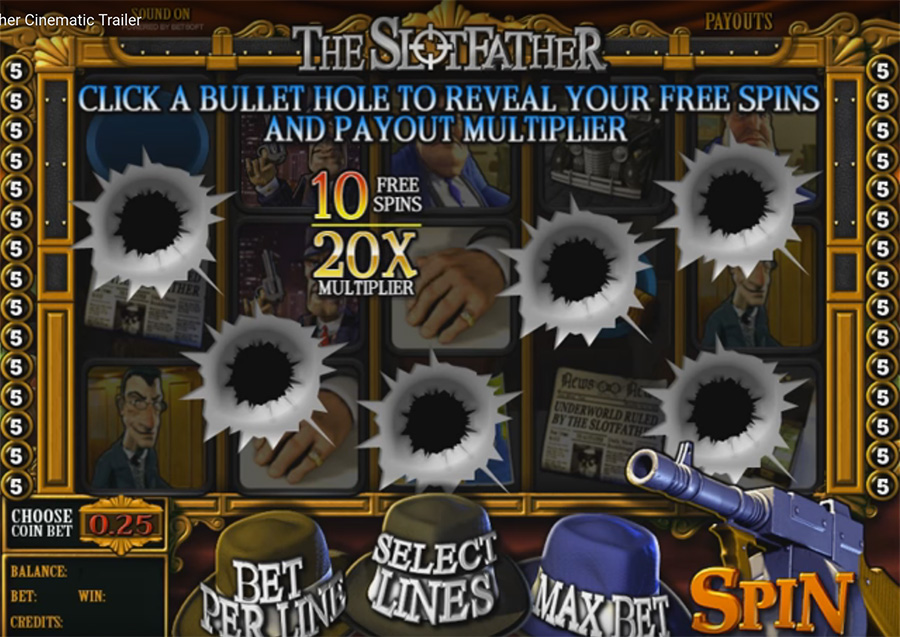 игра BetSoft - Slotfather