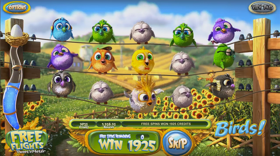 игра онлайн Betsoft Gaming - BIRDS!