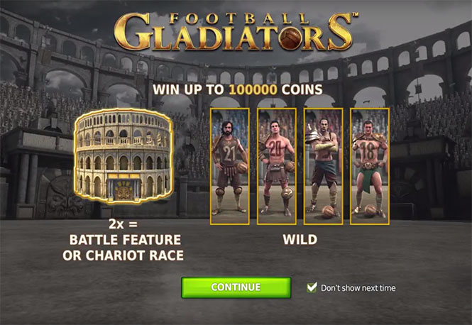 Слот Football Gladiators