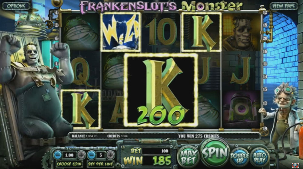 слот-игра FrankenSlot's Monster